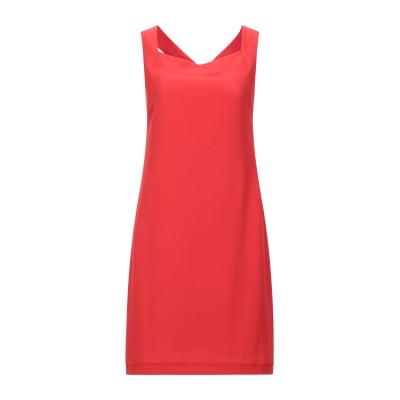 OPTIONS ミニワンピース&ドレス レッド M ポリエステル 95% / ポリウレタン 5% ミニワンピース&ドレス