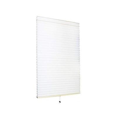 小窓用 スクリーン 59cm × 90cm ハニカムシェード | ロールスクリーン 断熱 小窓 カーテン ホワイト(C272-S1)