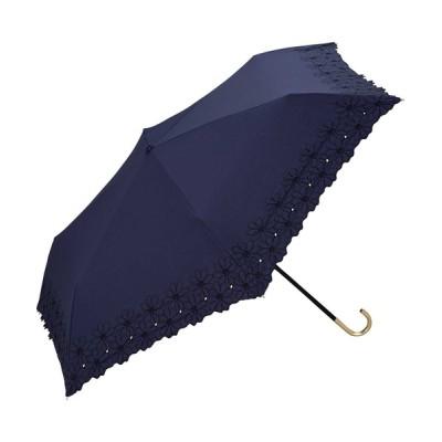 Wpc./KiU / フラワースカラップmini WOMEN ファッション雑貨 > 折りたたみ傘
