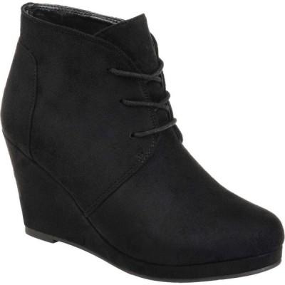 ジュルネ コレクション Journee Collection レディース ブーツ シューズ・靴 Enter Bootie Black