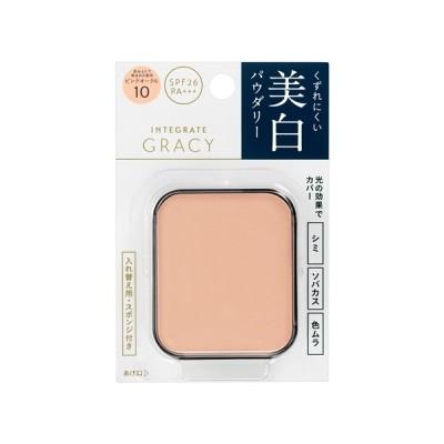 資生堂(SHISEIDO) インテグレート グレイシィ ホワイトパクトEX ピンクオークル10 (レフィル) 赤みよりで明るめ (11g)