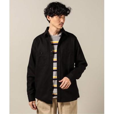 メンズ ジャーナルスタンダード 【RANDYS GARMENTS/ランディ ガーメンツ】3-Pocket Work Shirt ブラック L