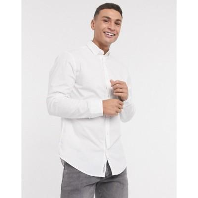 オリジナルペンギン メンズ シャツ トップス Original Penguin long sleeve core poplin shirt