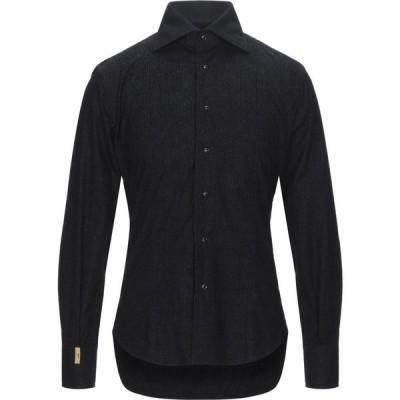 ビリオネア BILLIONAIRE メンズ シャツ トップス Solid Color Shirt Black