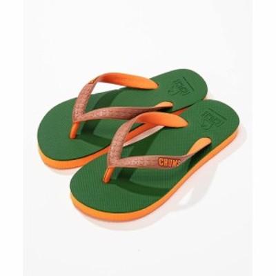 チャムス トレッキングシューズ メンズ Boobeach Sandal / ブービーチ サンダル CH63-1010-M022 KHAKI