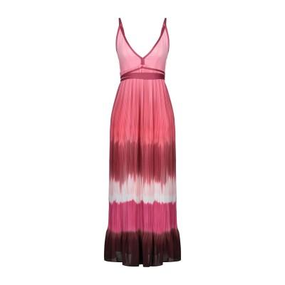 ピンコ PINKO ロングワンピース&ドレス ピンク 38 ポリエステル 100% ロングワンピース&ドレス