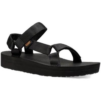 テバ レディース サンダル シューズ Teva Midform Universal Sandals - Women's Black