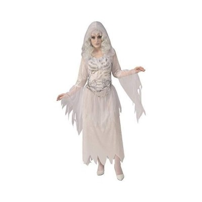 Rubie's Women's Opus Collection Ghosts Adult Ghostly Woman Costume, White/Grey, Small[並行輸入品]