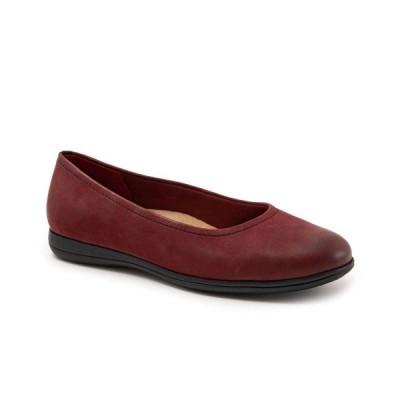 トロッターズ Trotters レディース スリッポン・フラット シューズ・靴 Darcey Flat Dark Red