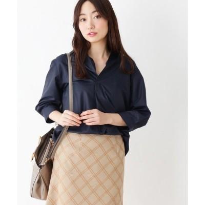 【WEB限定サイズ有り】innowave シルキーブロードシャツ