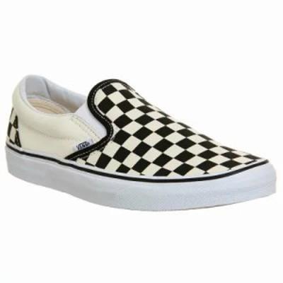 ヴァンズ スリッポン・フラット Vans Classic Slip On Trainers black