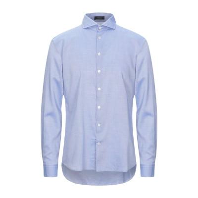 トネッロ TONELLO シャツ ブルー 42 コットン 100% シャツ