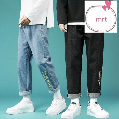 デニムパンツ ジーンズ ウォッシュ ジーパン デニム パンツ JEANS きれいめパンツ メンズ
