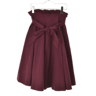 Drawer / ドゥロワー 16AW ウエストリボンフレア スカート