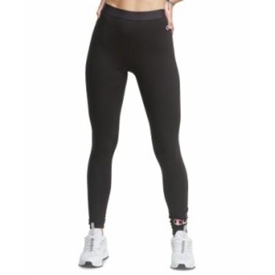 チャンピオン レディース カジュアルパンツ ボトムス Plus Size DOUBLE DRY® Leggings Black