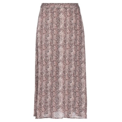 SOALLURE 7分丈スカート ピンク 38 レーヨン 100% 7分丈スカート