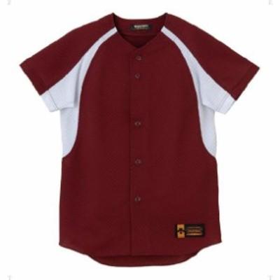 ジュニア ユニフォーム コンビネーションシャツ【DESCENTE】デサントヤキュウソフトハンソデTシャツ(JDB48M-ENG)
