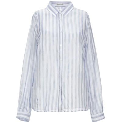 CAMICETTASNOB シャツ アジュールブルー 40 レーヨン 41% / コットン 40% / レーヨン 13% / 指定外繊維 6% シャツ