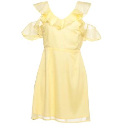 GLAMOROUS ミニワンピース&ドレス イエロー 12 ポリエステル 100% ミニワンピース&ドレス