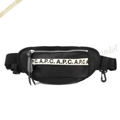 アーペーセー A.P.C. ボディバッグ メンズ レディース Repeat リーピート ヒップバッグ ブラック PAACL H62165 LZZ   ブランド