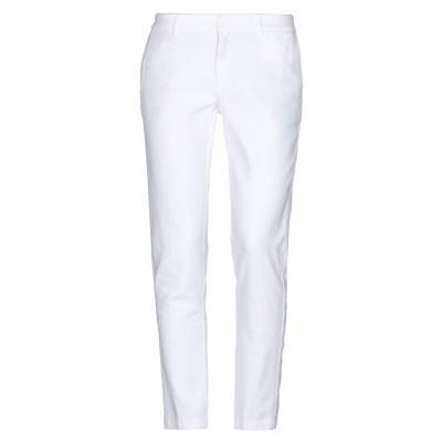 KUBERA 108 パンツ ホワイト 42 コットン 97% / ポリウレタン 3% パンツ