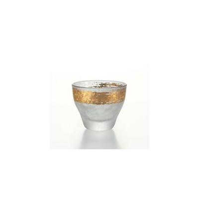 石塚硝子 ISHIZUKA GLASS アデリアグラス ADERIA GLASS プレミアム金一文字酒グラス 6697 90ml 盃 杯