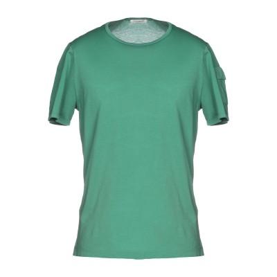 パオロ ペコラ PAOLO PECORA T シャツ グリーン S コットン 100% T シャツ