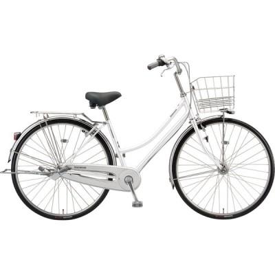 送料無料 ブリヂストン シティサイクル自転車 ロングティーンDX L6ST1 P.Xシャンパンホワイト