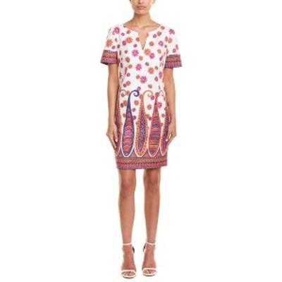 トリーナターク レディース ワンピース トップス Trina Turk Museum Shift Dress white multicolor