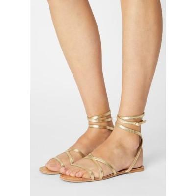 レディース 靴 シューズ Sandals - gold