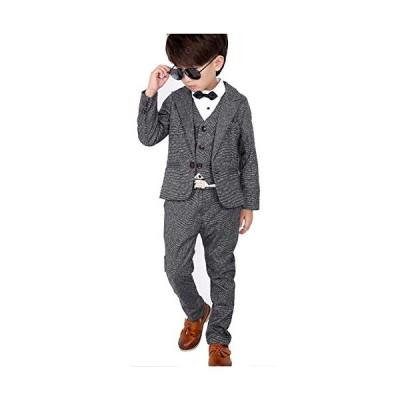 SIJIYIREN キッズ フォーマル スーツセット 男の子 スーツ 紳士服 発表会 入園式 入学式 卒業式 結婚式 七五三 誕