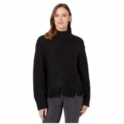 ニューバランス New Balance レディース ニット・セーター トップス Balance Fringe Sweater Black