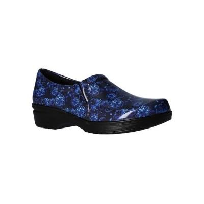 イージーストリート サンダル シューズ レディース Easy Works by Women's Tiffany Clogs Blue Multi