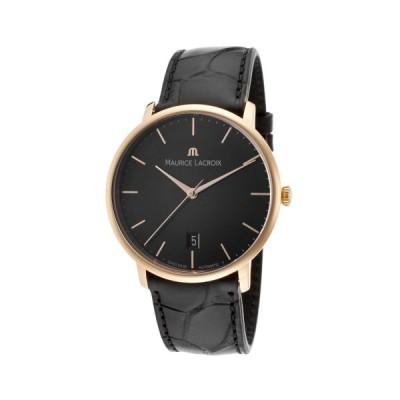 腕時計 モーリスラクロア Maurice Lacroix Les Classiques 18K Rose Gold Watch LC6007-PG101-330