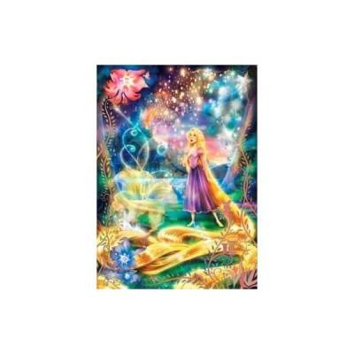 【テンヨー】 D-500-442 輝く魔法の髪 パズル ジグソーパズル パネル キャラクター ディズニー[▲][ホ][K]