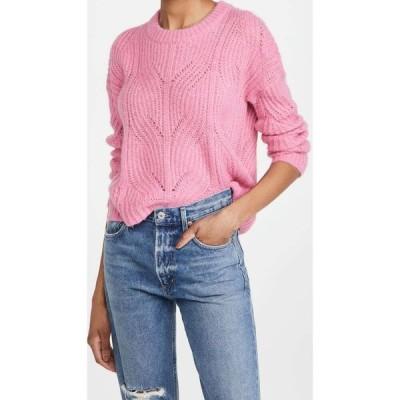 メイドウェル Madewell レディース ニット・セーター トップス Dasher Stich Crew Sweater Heather Petunia