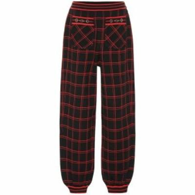 グッチ Gucci レディース ボトムス・パンツ Embellished checked wool pants Multi