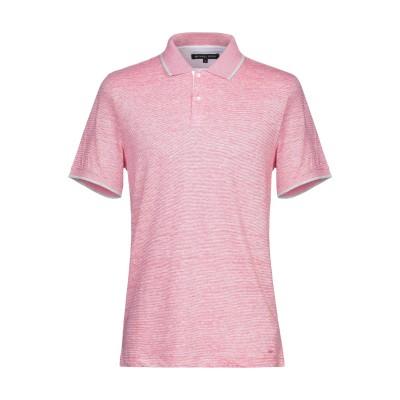 MICHAEL KORS MENS ポロシャツ ピンク S 麻 67% / コットン 33% ポロシャツ