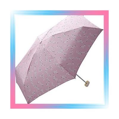ピンク/ヴィンテージフラワー mini 雨傘 折りたたみ傘 ピンク 50