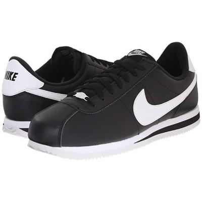ナイキ Cortez Leather メンズ スニーカー 靴 シューズ Black/Metallic Silver/White