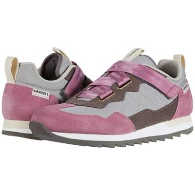 メレル Alpine Sneaker Cross レディース スニーカー Erica/Falcon