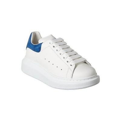 レディース シューズ  Alexander McQueen Oversized Leather Sneaker