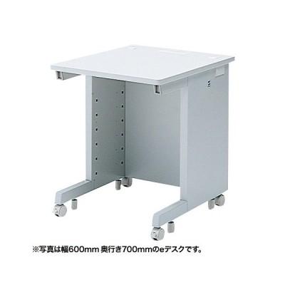【送料無料】【代引不可※メーカー直送】サンワサプライ  eデスク(Wタイプ)W650xD600mm [ED-WK6560N](受注生産)