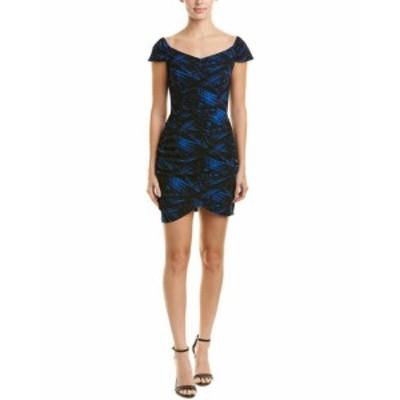 ファッション ドレス Love Ady Shirred Sheath Dress M Black