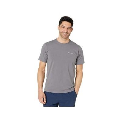 コロンビア Sun Trek Short Sleeve Tee メンズ シャツ トップス City Grey