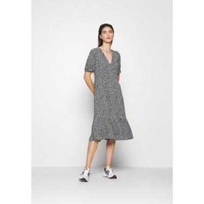 モス コペンハーゲン ワンピース レディース トップス LAURALEE RAYE DRESS - Day dress - dark blue