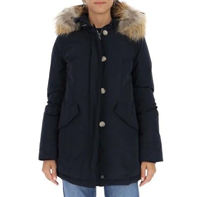 ウール リッチ レディース ジャケット&ブルゾン アウター Woolrich Fur Trim Down Jacket -