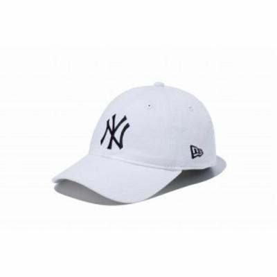 ニューエラ(NEW ERA) キッズ・ジュニア Youth 9TWENTY ニューヨーク・ヤンキース ホワイト×ブラック 11596299