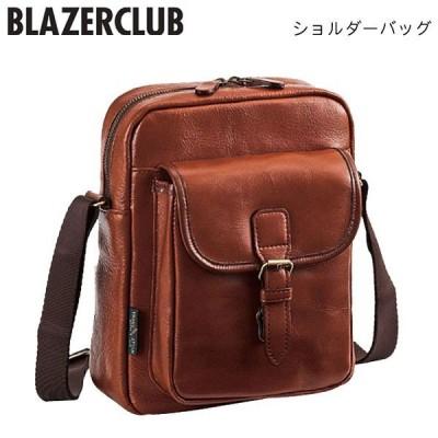 【BLAZER CLUB】 ブレザークラブ 日本製 メンズ ショルダーバッグ ブラウン 16342-4