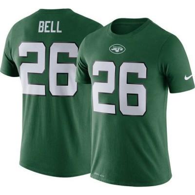 ナイキ メンズ Tシャツ トップス Nike Men's New York Jets Legend Logo Performance Green T-Shirt